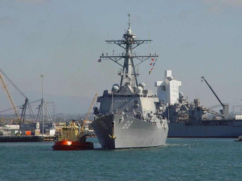 USS Preeble DDG 88 1