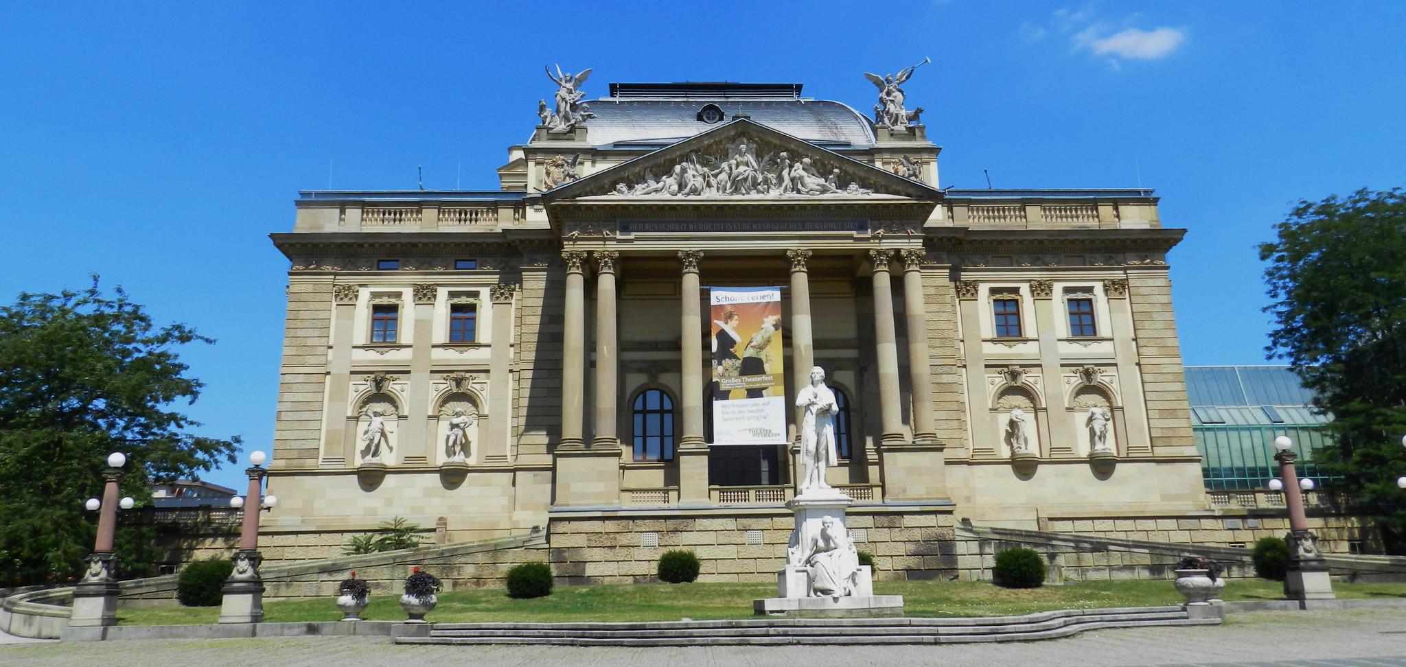 Teatro del Estado de Hesse Hessisches Staatstheater Wiesbaden Alemania