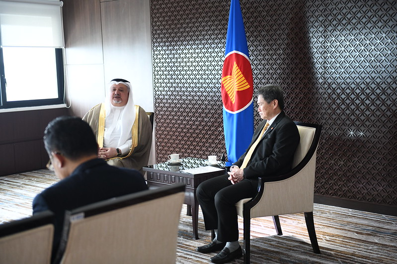 (JAN 2020) Ambassador of the Kingdom of Saudi Arabia to ASEAN presents credentials