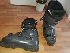 Pánské lyžařské boty HEAD 580 ČERNÉ WEDZE28-28,5  - titulní fotka