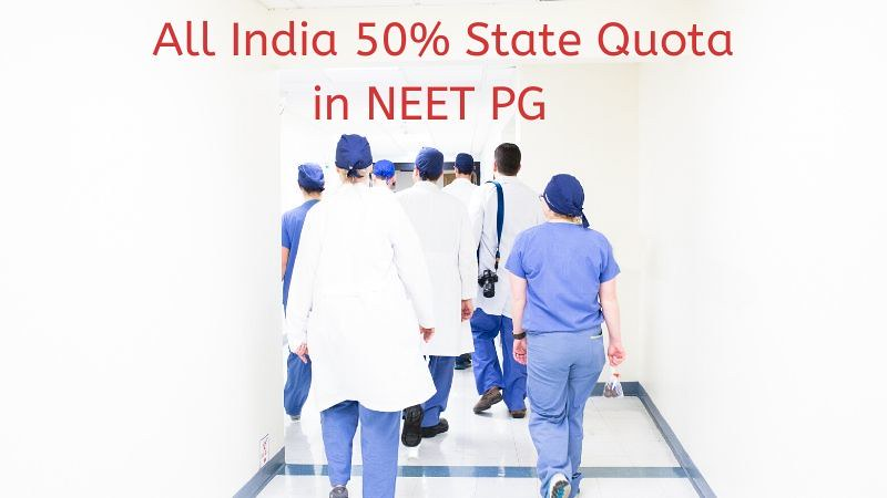 NEET PG State Wise Seat Allotment 2020