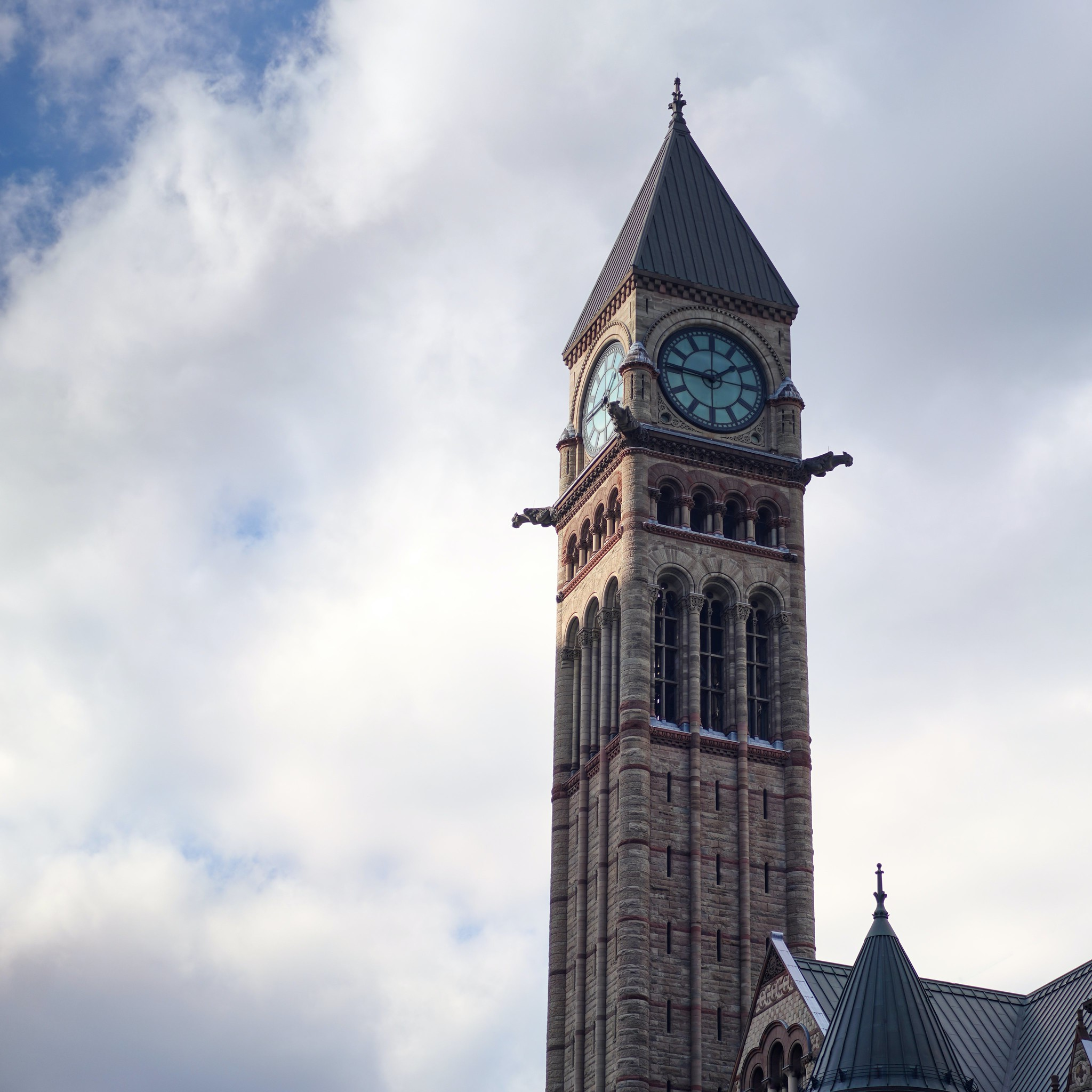 Clocktower at Old City Hall
