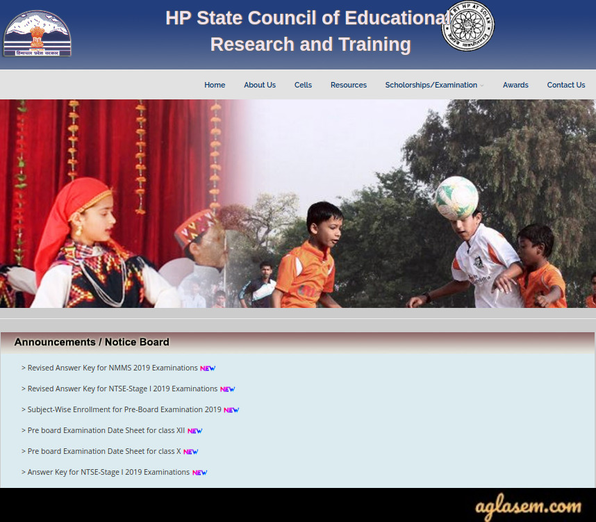 Himachal Pradesh NTSE Result 2020 -2021 Stage 1