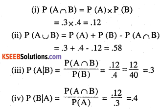 2nd PUC Maths Question Bank Chapter 13 Probability Ex 13.2 6