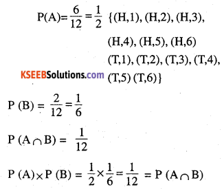 2nd PUC Maths Question Bank Chapter 13 Probability Ex 13.2 2