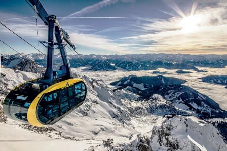 Vyhlášení vítěze soutěže Poznej a vyhraj: lyžařský obr na jih od Salcburku