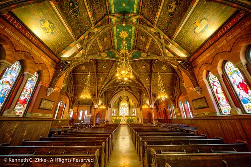 Sage Chapel at Cornell University