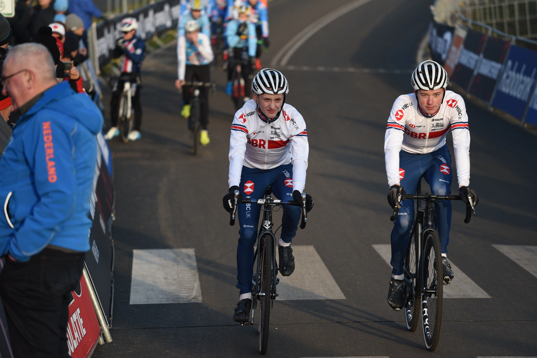 Great Britain Cycling Team at the 2019/2020 UCI Cyclo-Cross World Cup - Round 9 in Hoogerheide [The Netherlands]