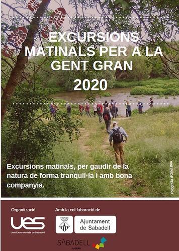 Excursions per a la Gent Gran - matinals 2020