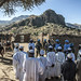 UNAMID peacekeepers interact with local community members during a routine patrol in Siri Sam village, Central Darfur