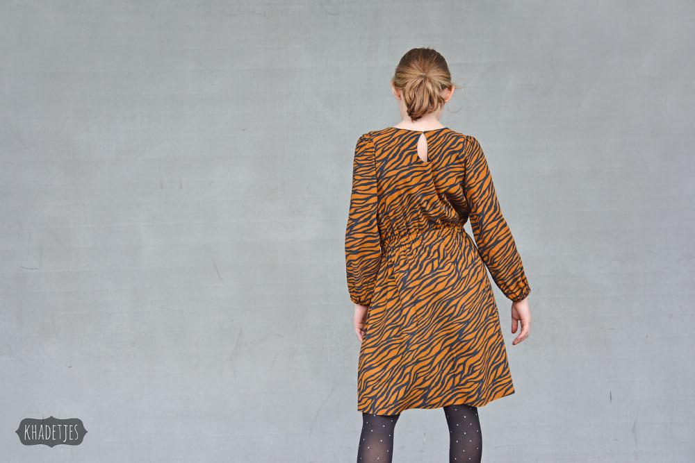 699-05 Monk jurk Khadetjes