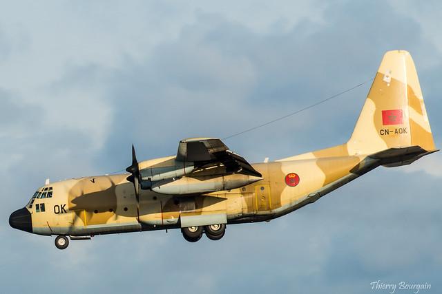 [ORY] Royal Morocco Air Force Lockheed C-130 Hercules _ CN-AOK