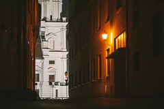Kaunas old town at night | Lithuania