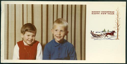 ArchivV122 Weihnachtsgrüße und Neujahrsgrüße, USA, 1967