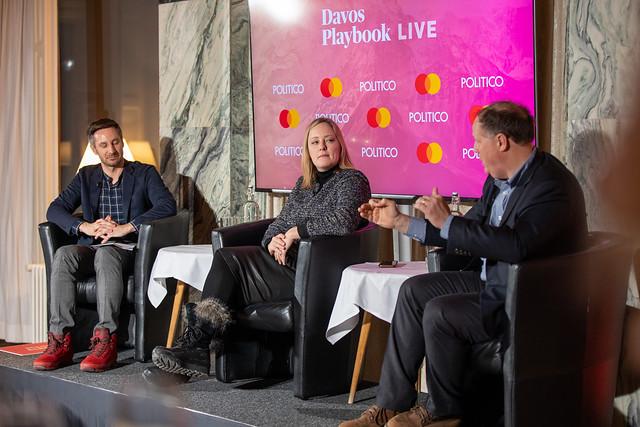 POLITICO Davos Playbook Live