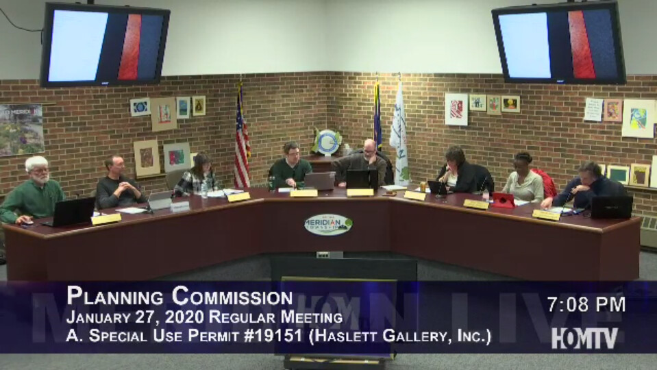 Planning Commission Revisits Marihuana Provisioning Center on Haslett Road