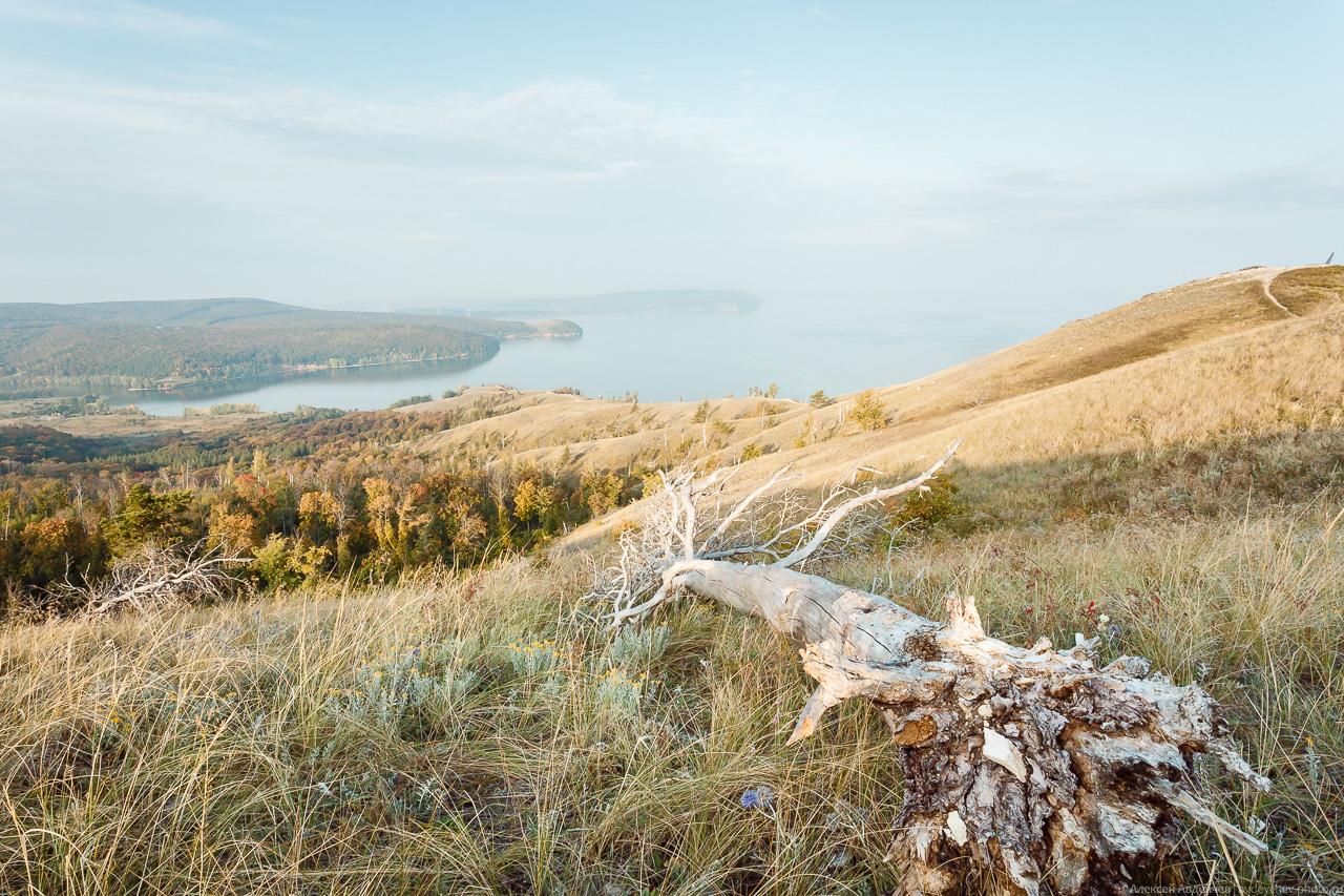 Молодецкий курган на рассвете (Самарская область)