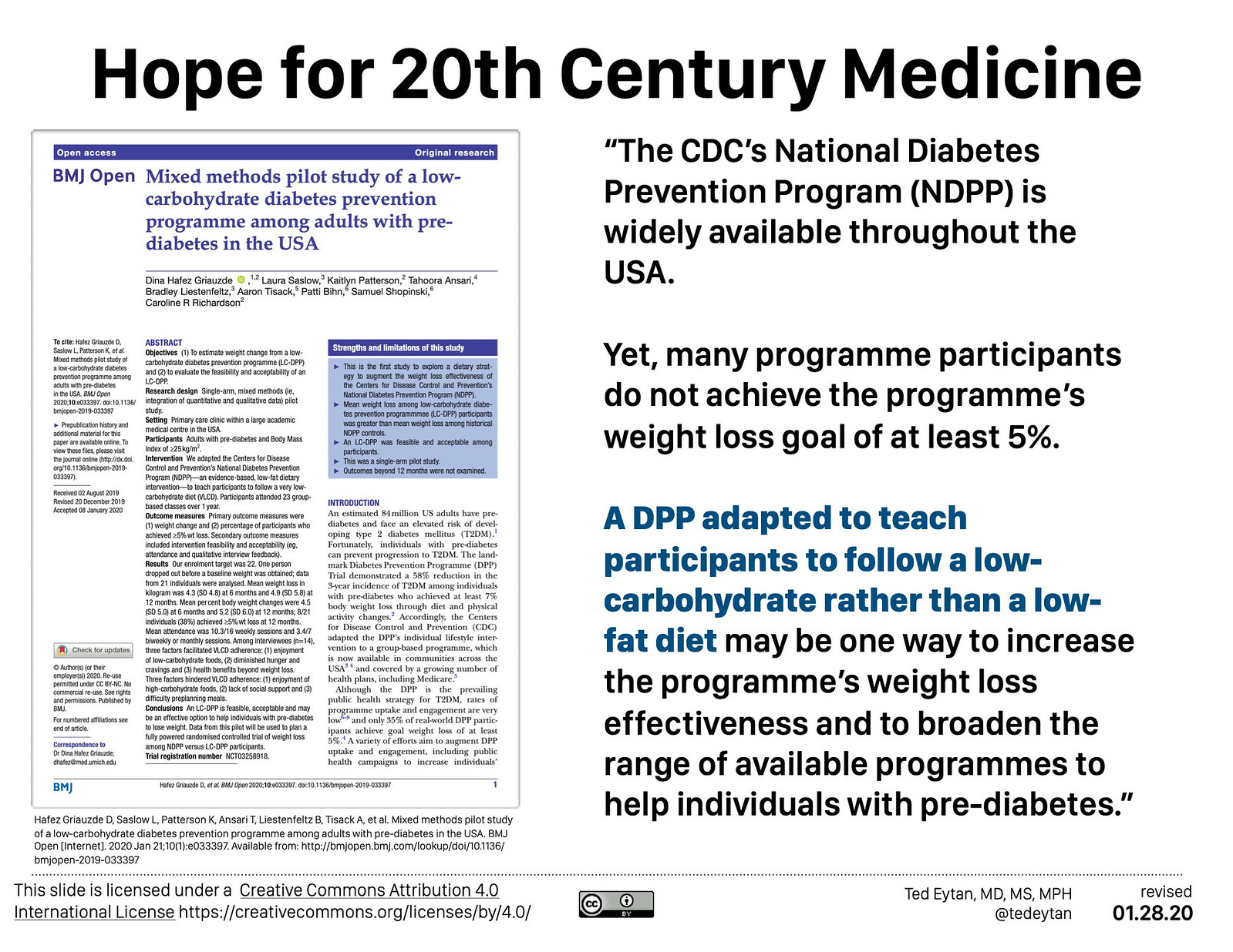 2018.05 Low Carb and Low Carbon - Ted Eytan MD-1001 868
