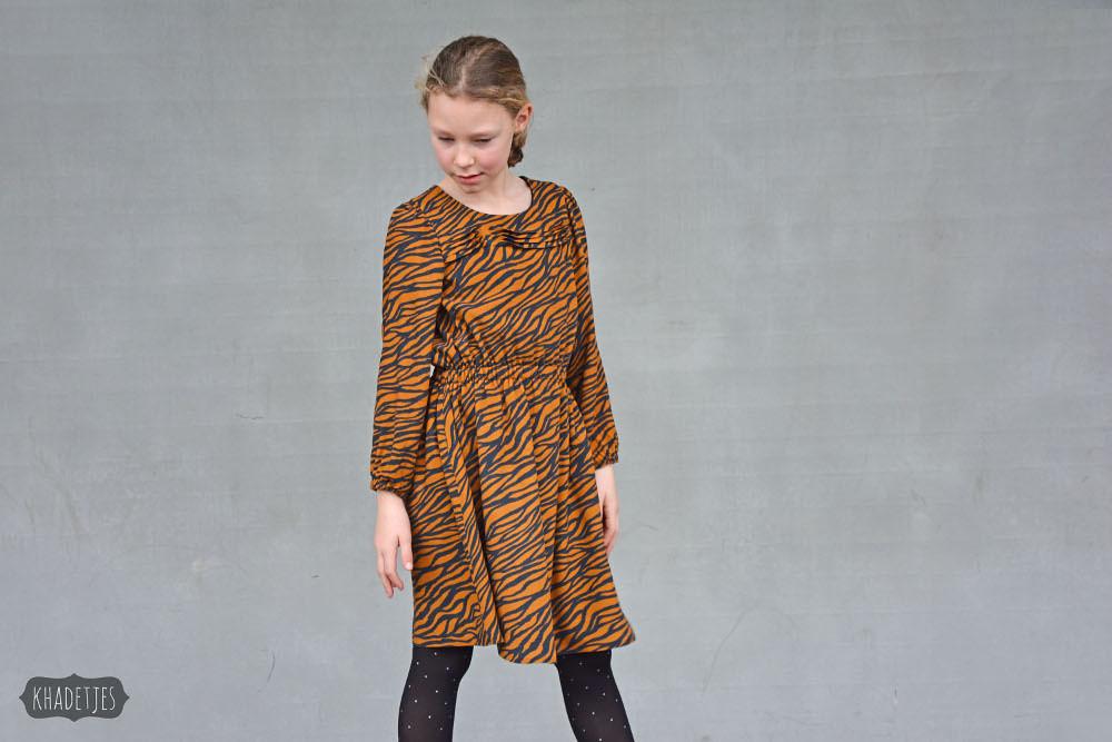 699-12 Monk jurk Khadetjes