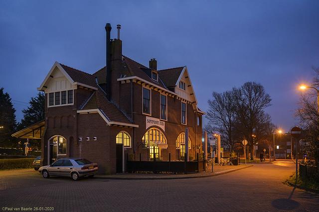 Santpoort Zuid - station, 26-01-2020