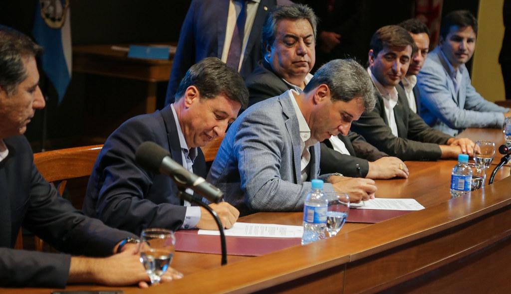"""2020-01-28 PRENSA: Acto de Presentación de  Tarjeta Alimentaria y Firma de Convenio Marco del """"Plan Argentina contra el Hambre"""""""