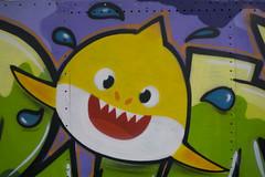 Graffiti shark