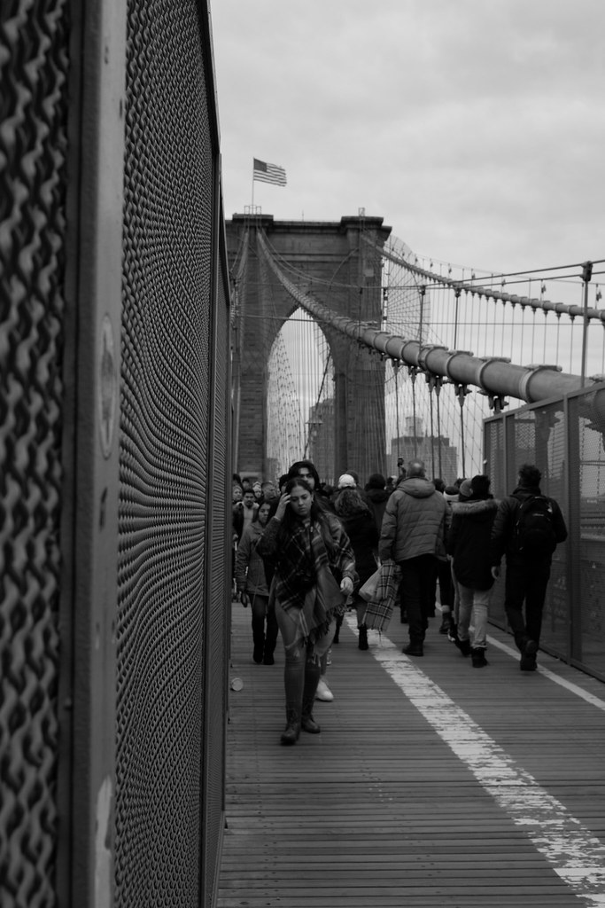 People on the Bridge