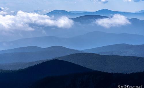 layers mountainridges coloradofrontrange niwotridge