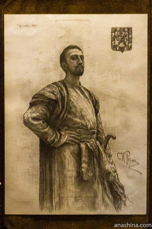 Палаты бояр Романовых, Москва, Портрет Федора Никитича Романова