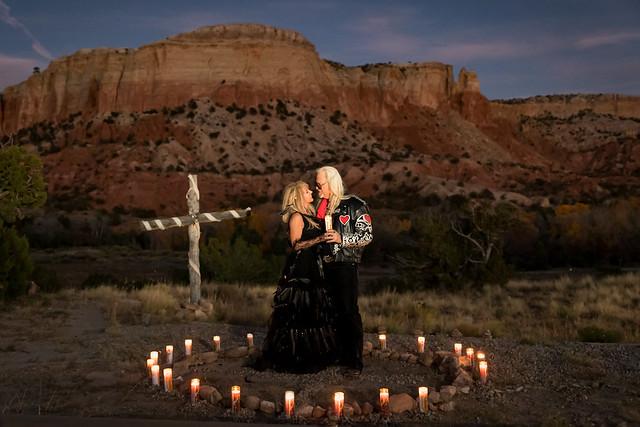 Ghost Ranch Wedding