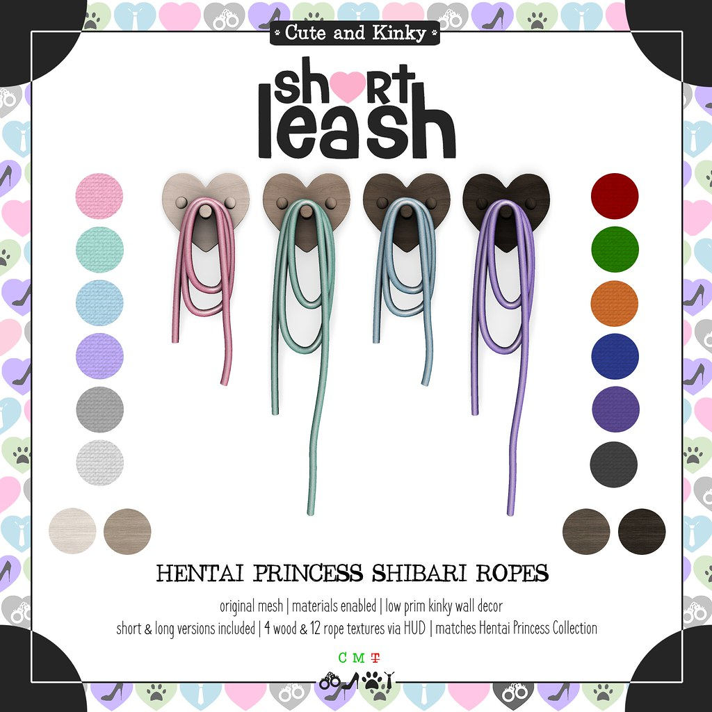 .:Short Leash:. Hentai Princess Shibari Ropes