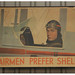 Airman Prefer Shell Advertising Sign