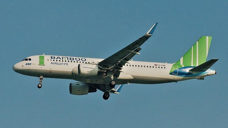 Bamboo Airways Airbus 320-214(WL) msn5673 TC-FHN VVTS 22/1/2020.