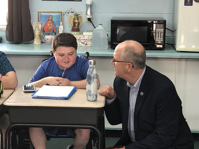 2020 US Department of Education Visits Morning Star School in Tampa