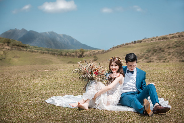 婚攝楊康影像 自助婚紗 擎天岡 冷水坑 龍風谷