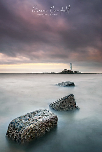 ngc england sunset longexposure sea lighthouse tynewear stmarys uk europe nikon