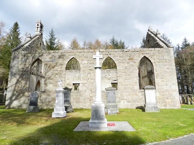 Blairdaff War Memorial, Blairdaff, Aberdeenshire, April 2013
