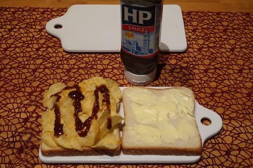 Crisp Sandwich (vor dem Zusammenklappen)