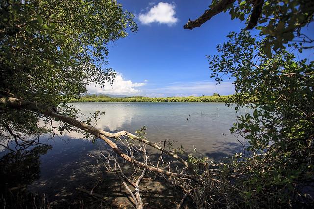 The Lake on Gili Meno