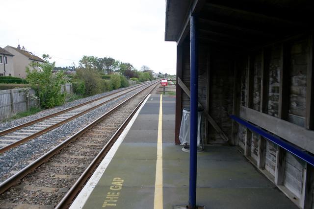 Balmossie Station platform