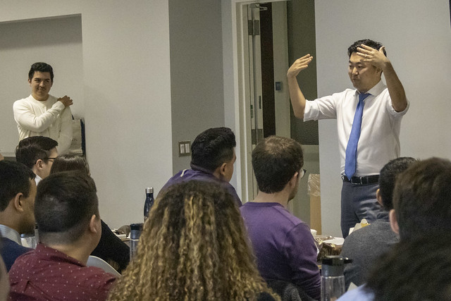 Visit by Councilman David Ryu