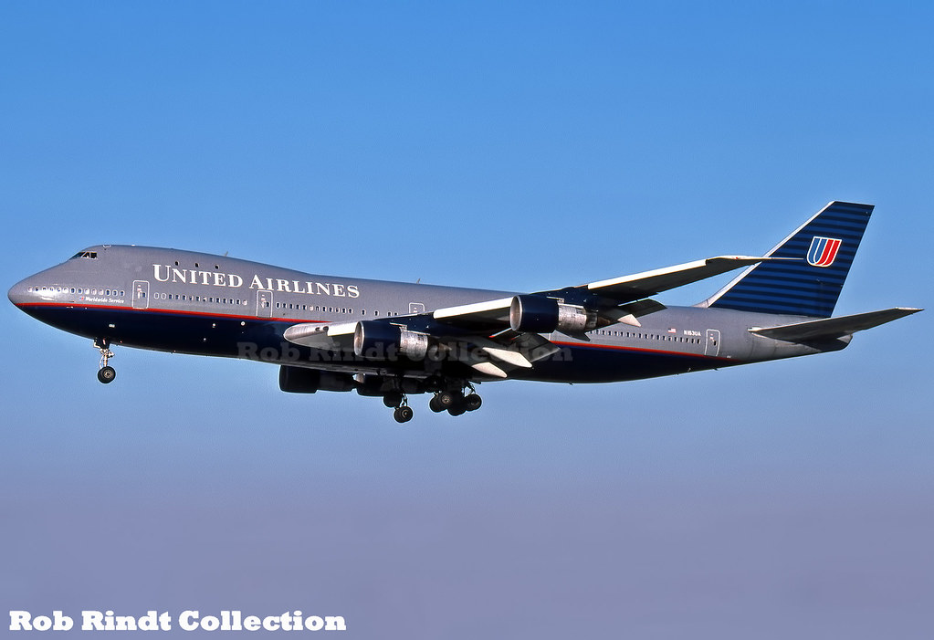 United Airlines B747-123 N153UA