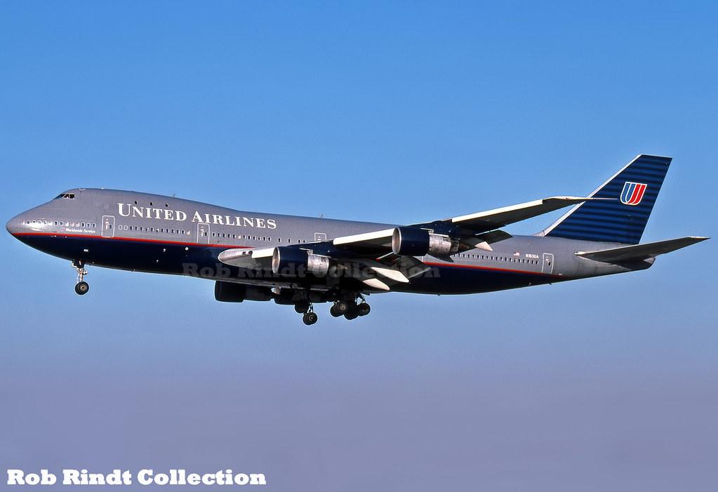 United Airlines B747-123 N153UA