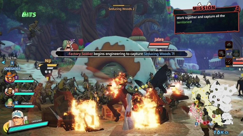 One Piece: Pirate Warriors 4 Online Co-op