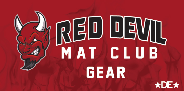 Red Devil Mat Club Wrestling Gear