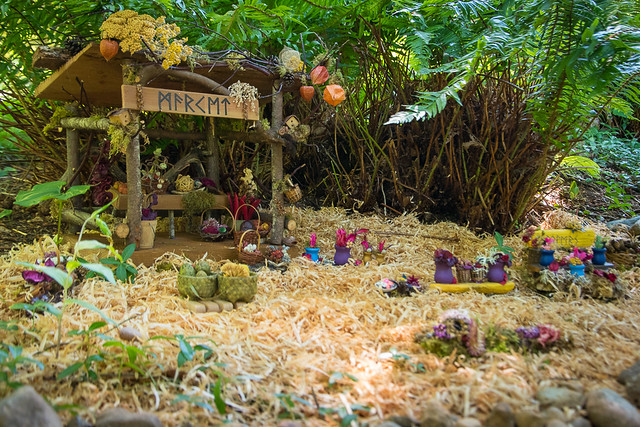 Fairy Houses at Milner Gardens