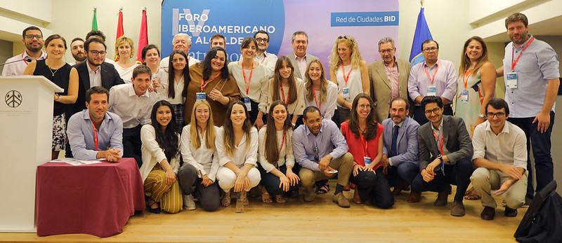 Ceremonia de Premiación: BID CitiesLab 2019, San Telmo Sevilla.