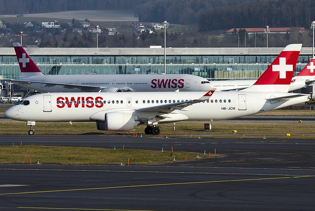 HB-JCM Swiss International Air Lines Airbus A220-300