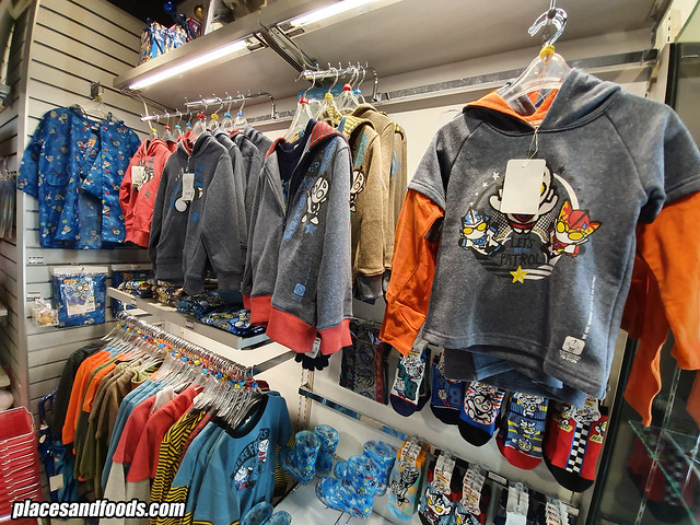 ultraman world shop tokyo jackets