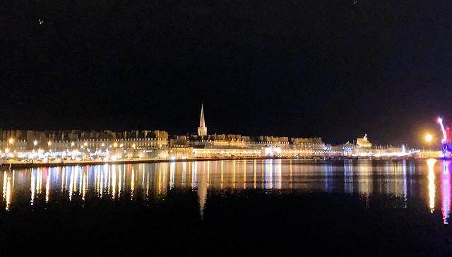 reflets dans le port de Saint-Malo